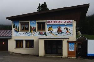 location de ski de la Dole